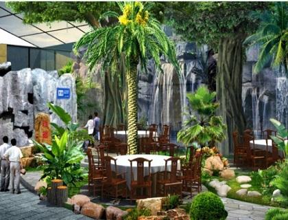 生态餐厅温室景