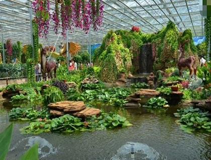园艺温室展示