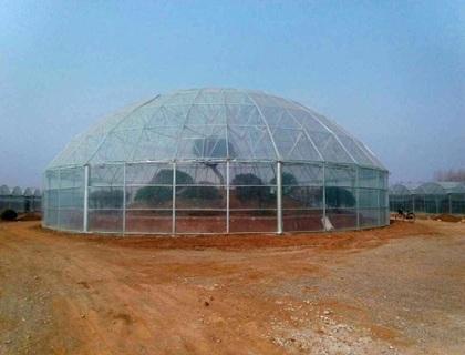 球型温室远观