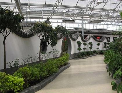 生态餐厅温室建设