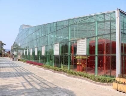 连栋玻璃温室展示