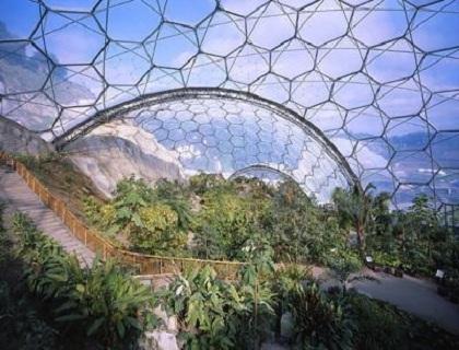 球型温室内部展示