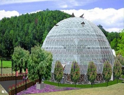 球型鸟巢温室