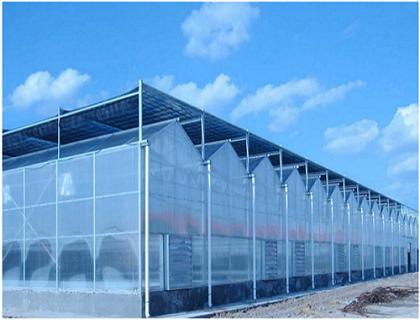 连栋智能玻璃温室大棚
